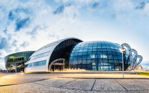 Centrum Wystawienniczo-Kongresowe w Jasionce. Źródło: roverchallenge.eu