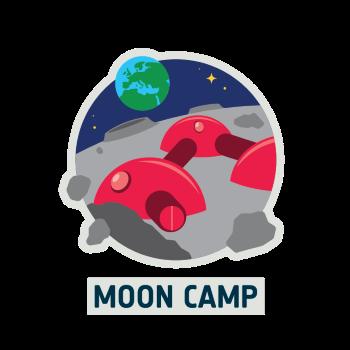 należy umieszczać w komunikacji wyzwania Moon Camp