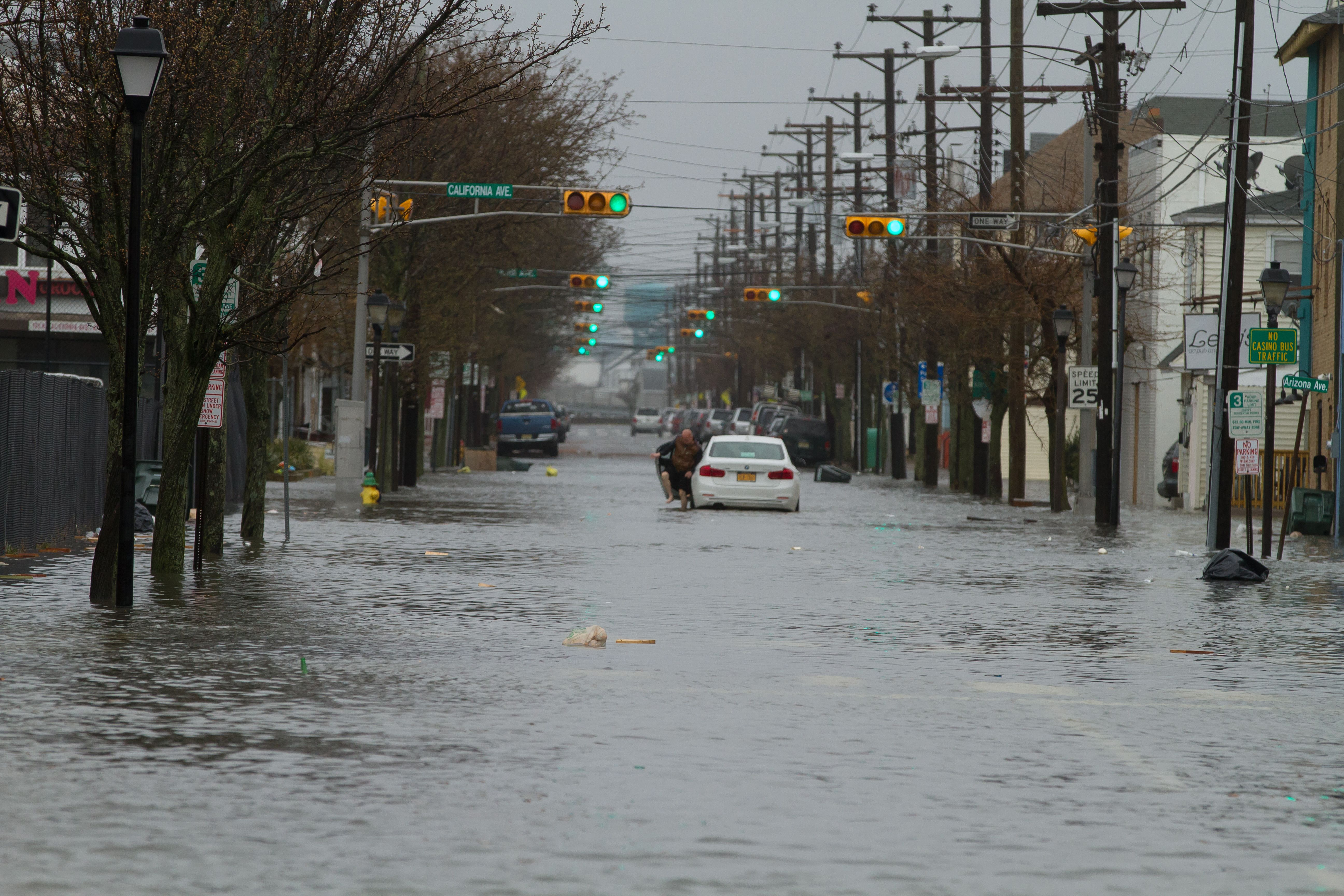 Powódź w Atlantic City